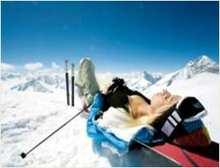 Infrared Ski Image