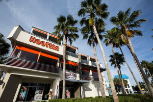 Hooters Angled View