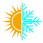 Sun and Snow Flake